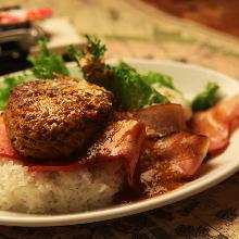 夏威夷米飯式漢堡
