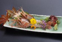 牡丹蝦(生魚片)