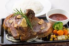 烤、嫩煎豬肉