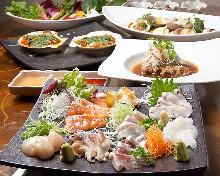 8,000日圓套餐 (12道菜)