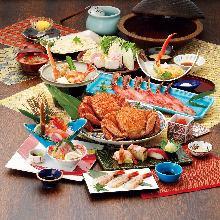 20,000日圓套餐 (9道菜)