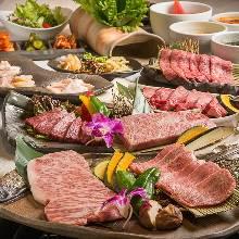 8,640日圓套餐 (14道菜)