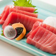 黑鮪魚中脂(生魚片)