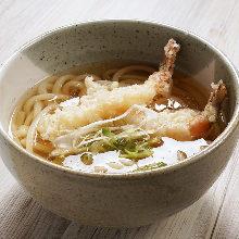 炸蝦天婦羅烏龍麵