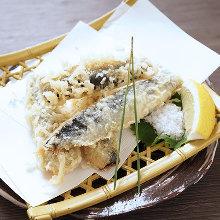 沙丁魚天婦羅