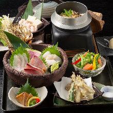 2,700日圓組合餐 (7道菜)
