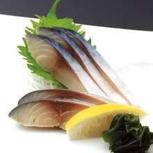 醋青花魚(生魚片)