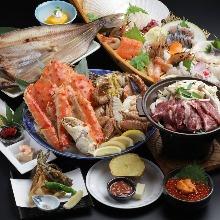 5,400日圓套餐 (9道菜)