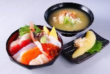 海鮮蓋飯御膳