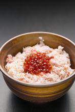 鮭魚籽蓋蟹肉飯