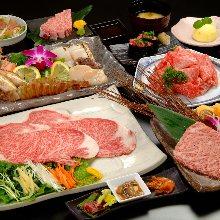 15,400日圓套餐 (13道菜)
