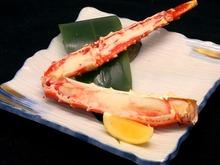 七輪日式炭烤帝王蟹