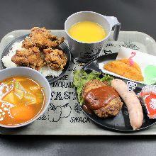 600日圓組合餐