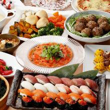 1,944日圓套餐 (100道菜)
