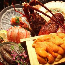 6,000日圓套餐 (9道菜)