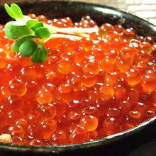 鮭魚卵蓋飯