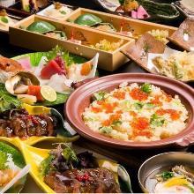 8,640日圓套餐 (9道菜)