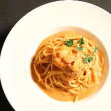 海膽奶油醬義大利麵
