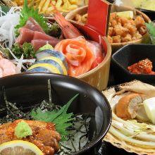 2,500日圓套餐 (10道菜)
