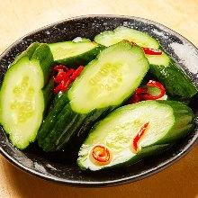 醃漬整根黃瓜