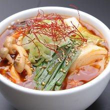 韓式蔬菜肉湯