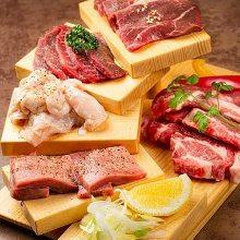 成吉思汗烤羊肉拼盤