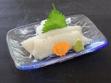 魷魚(生魚片)