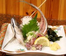 碎切竹莢魚
