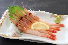 甜蝦(生魚片)