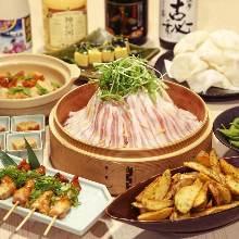 3,000日圓套餐 (8道菜)