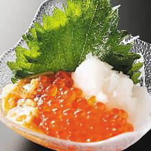 鮭魚子蘿蔔泥