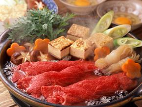 壽喜燒(すき焼き)・涮涮鍋(しゃぶしゃぶ)