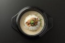 韓式牛骨湯飯