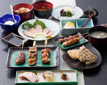 3,704日圓套餐 (9道菜)
