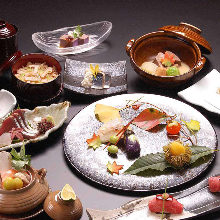 10,098日圓套餐 (9道菜)