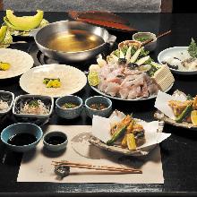 16,500日圓套餐 (8道菜)