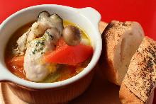 西班牙蒜香牡蠣