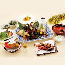 7,020日圓套餐 (10道菜)