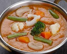 綜合蔬菜咖哩