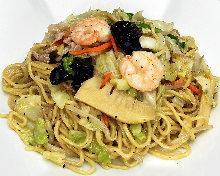 上海風海鮮鹽味炒麵