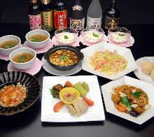 2,700日圓套餐 (8道菜)