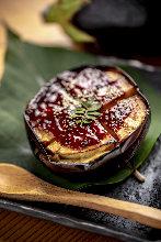 茄子田樂燒