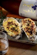 烤箱烤製牡蠣