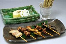 5種串燒拼盤