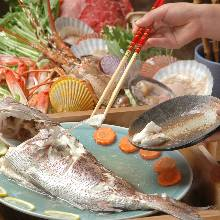 蒸整條鯛魚