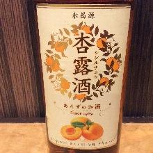 Apricot dew liquor (lock / so da)