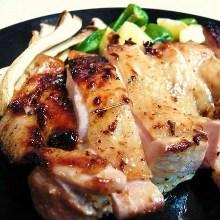 烤、嫩煎雞肉