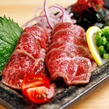 炙烤牛肉刺身