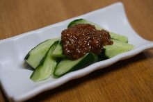 肉醬味噌拌黃瓜