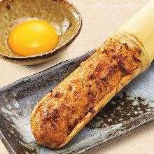 生蛋黃肉丸